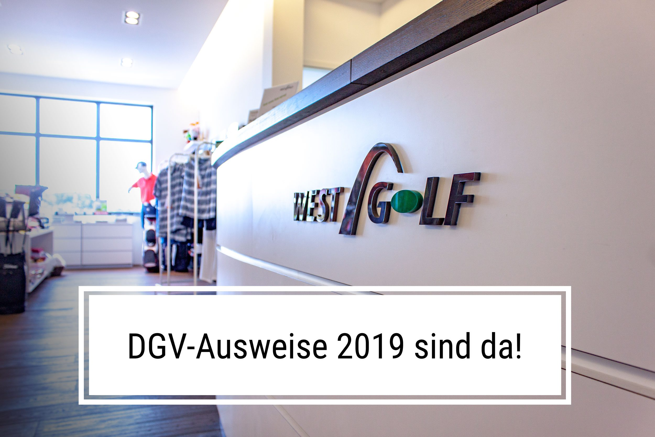 DGV-Ausweise 2019 sind da!