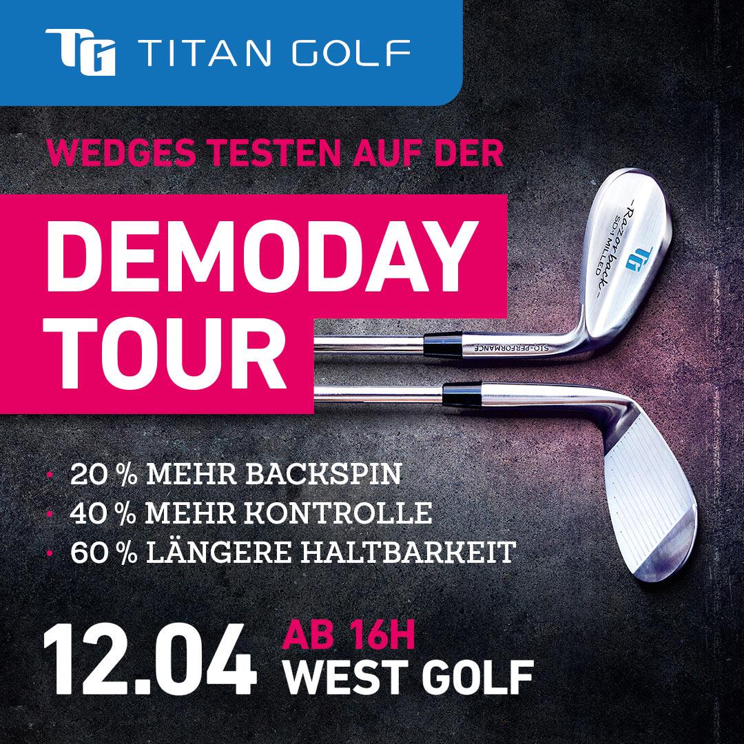 Titan Golf Demo Day