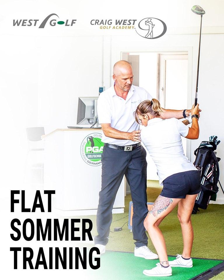 Flat Sommer Training