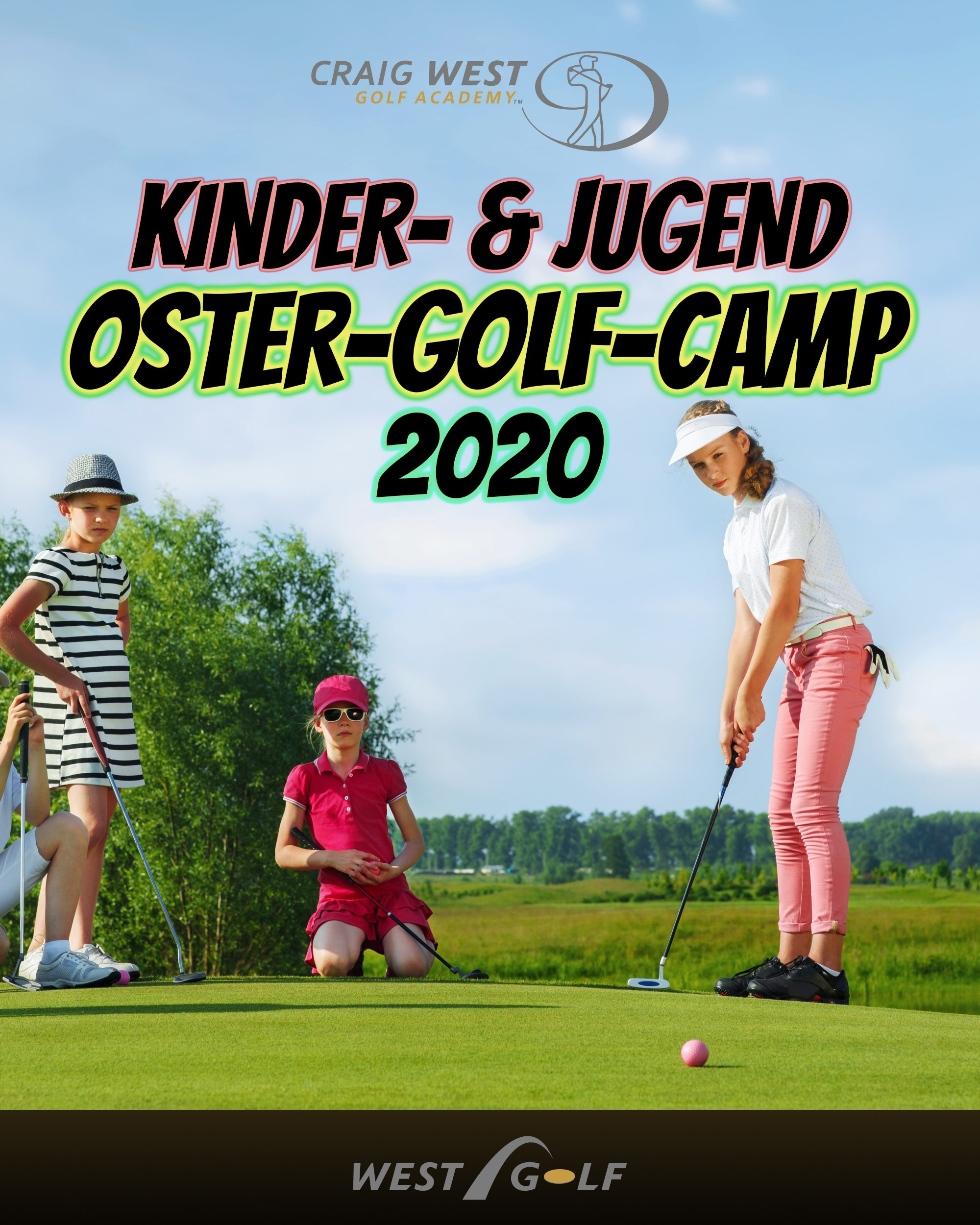 Kinder- & Jugend Oster-Golf-Camp 2020